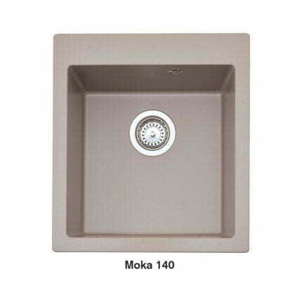 Νεροχύτης Ένθετος Crown Quadra Q45 Moka