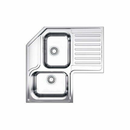 Νεροχύτης Ένθετος Γωνιακός Apell 8820N 83×83