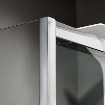 Καμπίνα Γωνιακή Axis Corner Entry 100X70 Fabric
