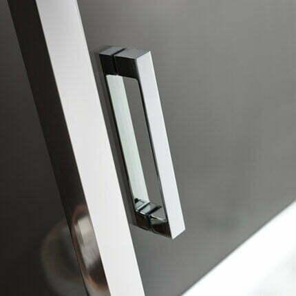 Καμπίνα Γωνιακή Axis Corner Entry 80×80 Fabric