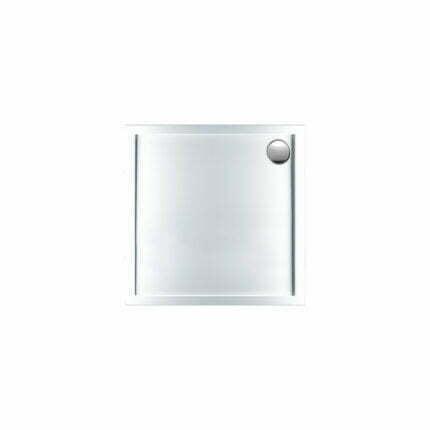Ντουζιέρα Τετράγωνη Sirene Extra-Flat  80×80