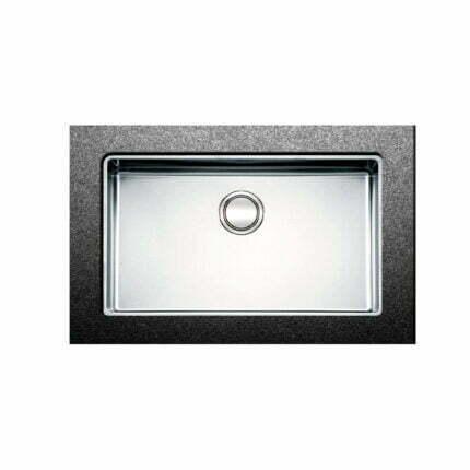 Νεροχύτης Apell Υποκαθήμενος Linear Plus FEM71 75Χ44 Inox Λείο
