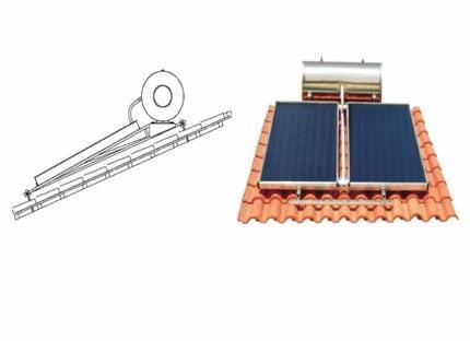 Ηλιακός Θερμοσίφωνας ILIOFAR Glass 250 LT