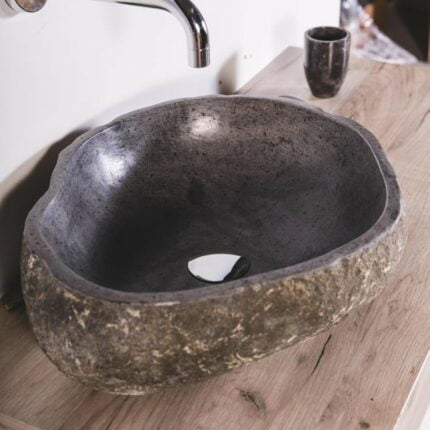 Νιπτήρας Πέτρινος River Stone