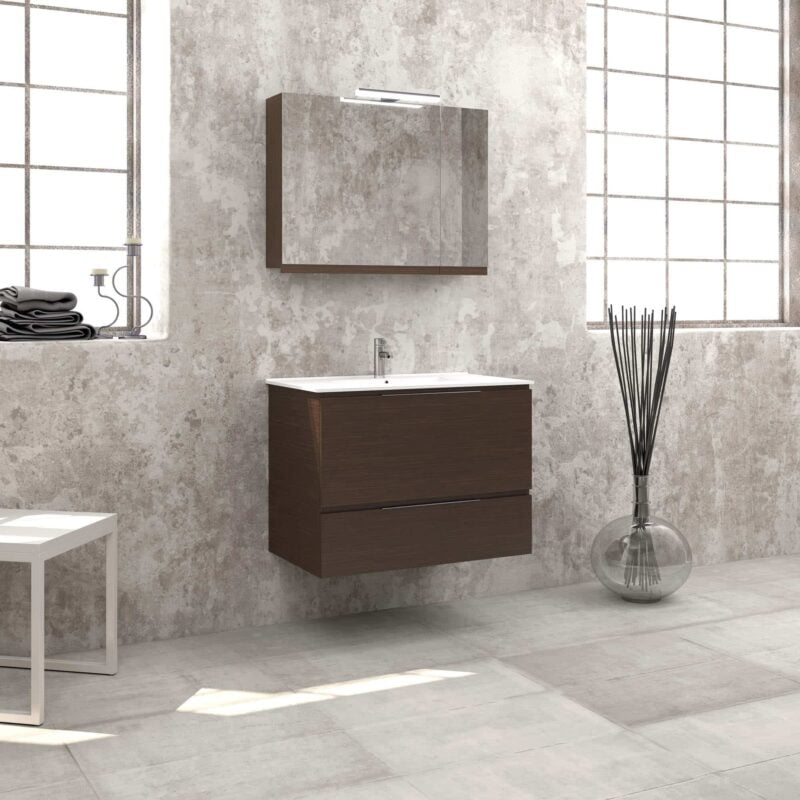 Έπιπλο μπάνιου Zebis Smile 080