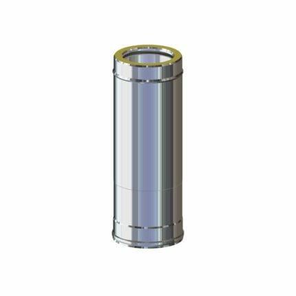 Καμινάδα Ινοξ Διπλού Τοιχώματος (0.50Μ) Hi line Ceramic