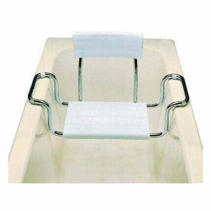 Κάθισμα Μπανιέρας ΑΜΕΑ Με Πλάτη Ρυθμιζόμενο 65-70cm Maxiflow