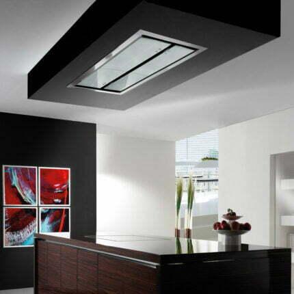 Απορροφητήρας Οροφής Εντοιχισμού Cirrus Glass Με Μοτέρ