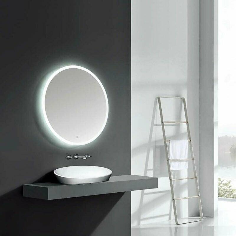 Καθρέπτης Μπάνιου Οβάλ Nettuno Led NAB001