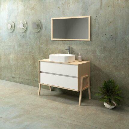Έπιπλο Μπάνιου Zebis Palette 105