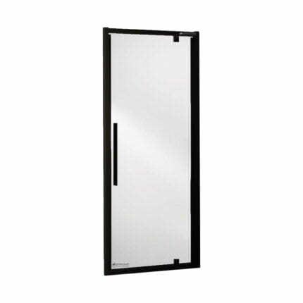 Πόρτα Ντουζιέρας Devon Pivot Flow Black Mat
