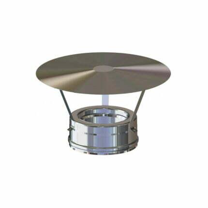 Καπέλο Κινέζικο Ινοξ Διπλού Τοιχώματος Hi line Ceramic
