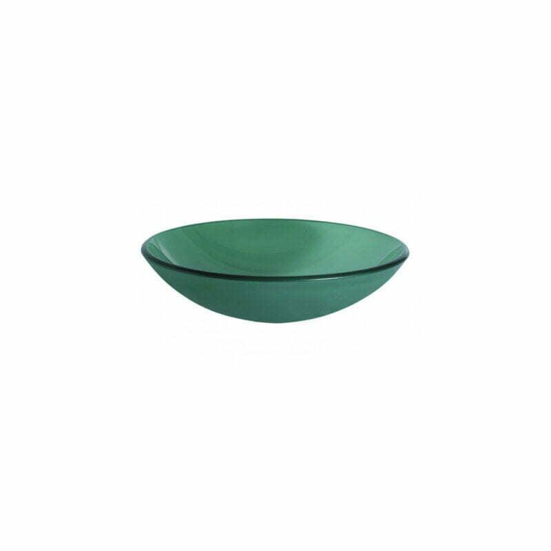 Νιπτήρας Επιτραπέζιος Γυάλινος Transparent – Πράσινο