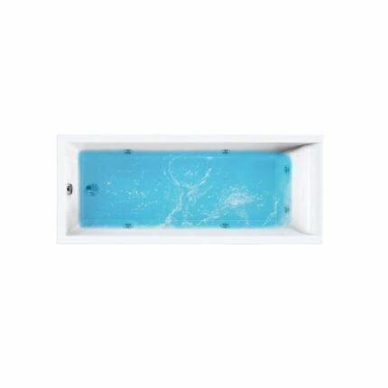 Μπανιέρα Ένθετη Sirene Cubic Με Υδρομασάζ
