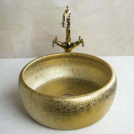Νιπτήρας Επιτραπέζιος Ceramita Gold Matt