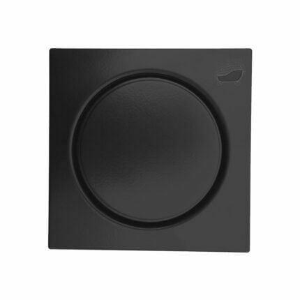 Σχάρα Δαπέδου Ανοξείδωτη Miro Ssp Black Mat