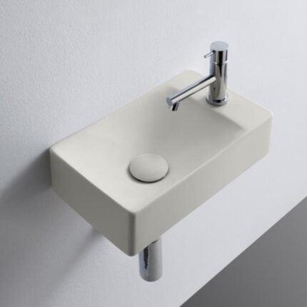 Νιπτήρας Κρεμαστός Scarabeo Soft – Λευκό