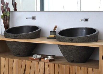 Επιτραπέζιος Νιπτήρας Πέτρινος Bati Ratu Bowl