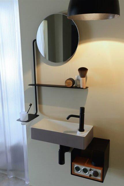Καθρέπτης Οβάλ Scarabeo Fold 4