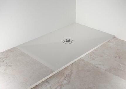 Ντουζιέρα Ορθογώνια Scarabeo Step – Λευκό Ματ