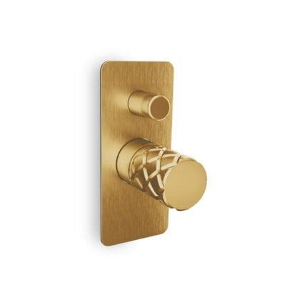 Μίκτης Εντοιχισμού 2 Εξόδων Eurorama Eletta Chester – Χρυσό