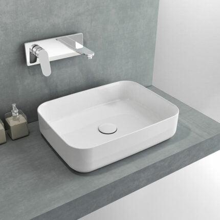 Νιπτήρας Επιτραπέζιος Bianco Ceramica Punto