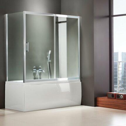 Διαχωριστικό Μπανιέρας Axis Bath Slider 1+1