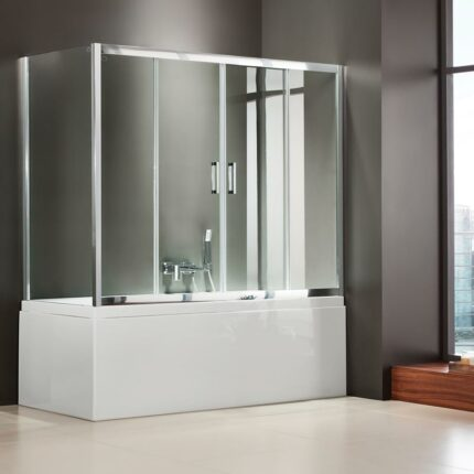 Διαχωριστικό Μπανιέρας Axis Bath Slider 2+2