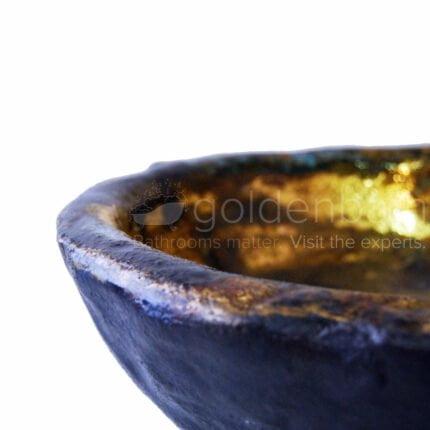 Νιπτήρας Επιτραπέζιος A Mano Mycenean Gold
